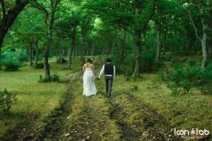 matrimonio al verde